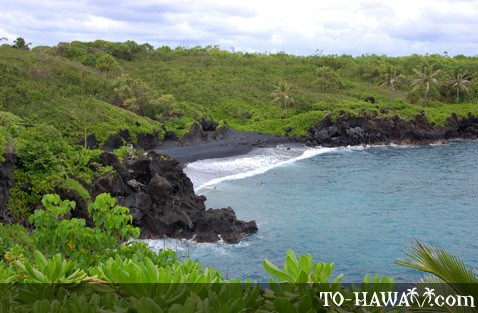 Located near Hana