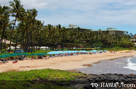 Northern end of Wailea Beach