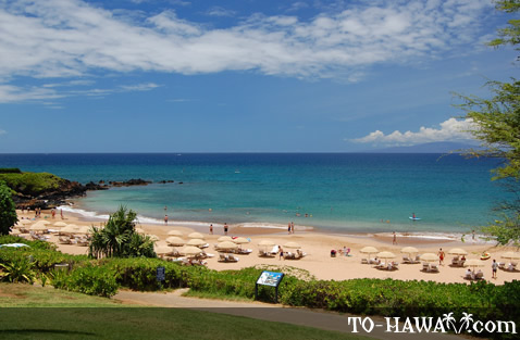 Southern end of Wailea Beach