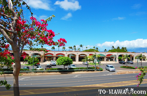 Shopping mall in Ka'anapali
