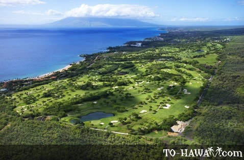 Wailea Golf Club - Gold Course aerial view