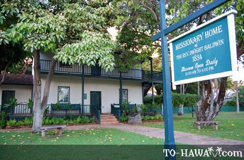 Baldwin Missionary House in Lahaina