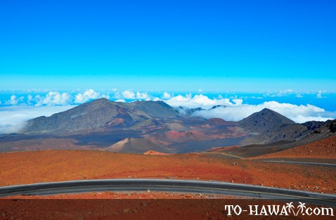 View to Haleakala