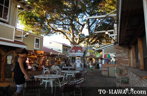 Located on Front Street in Lahaina