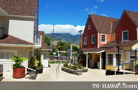 Lahaina shopping mall