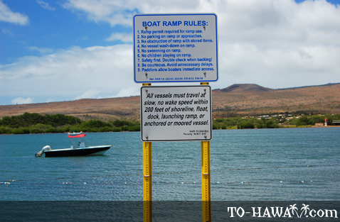 Boat ramp rules