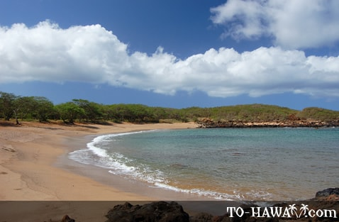 Beach also known as Kapukahehu Beach