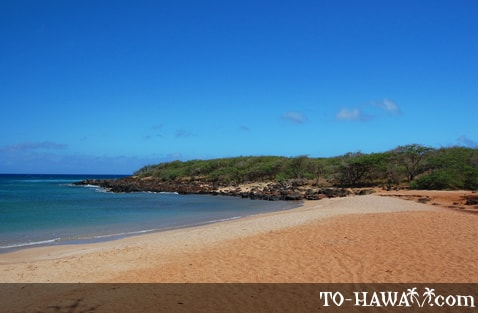 One of Molokai's best beaches