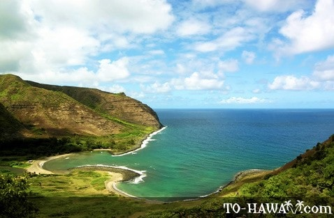 The two Halawa beaches