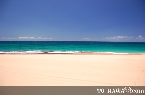 Papohaku white-sand beach