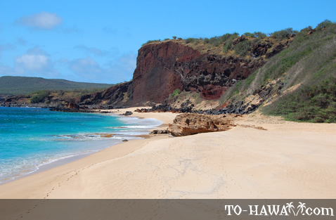 The second Pohakumauliuli beach