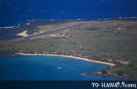 Kalaupapa Airport and Iliopi'i Beach