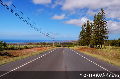 Kalae Highway on Molokai