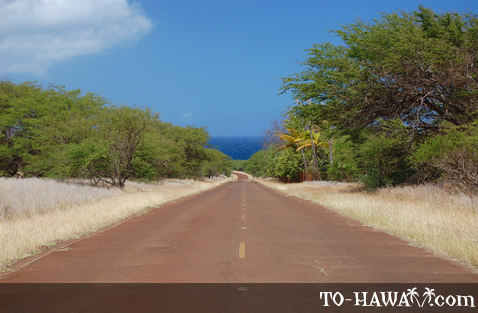Scenic driving on Molokai