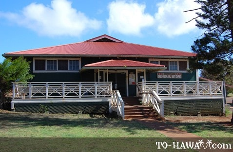 Maunaloa General Store on Molokai