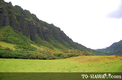 Popular movie film location in Hawaii
