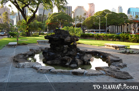 Honolulu ancient site