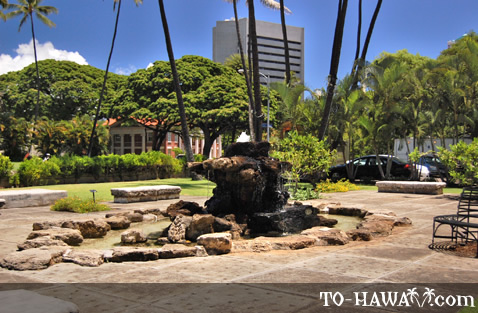 Sacred spring in Honolulu