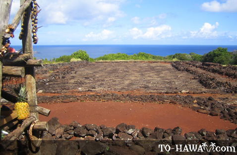 Sacrificial Hawaiian heiau
