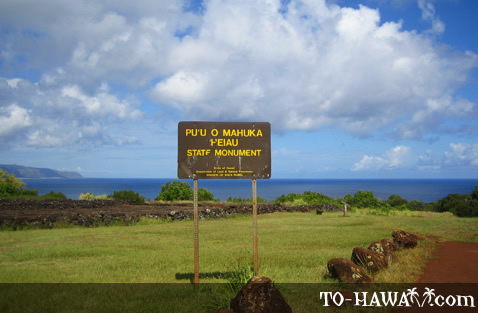 Sacred Hawaiian temple