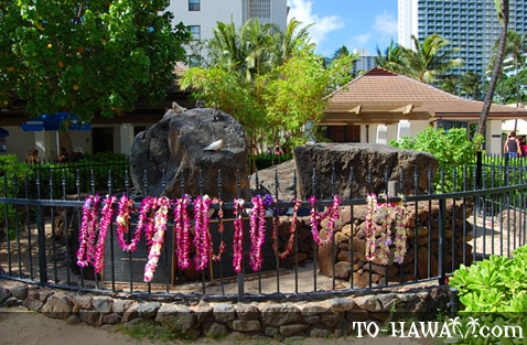 Waikiki ancient attraction