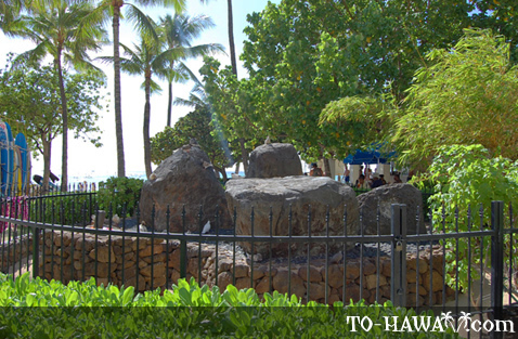 Wizard Stones in Waikiki