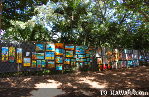 Beautiful Hawaiian paintings