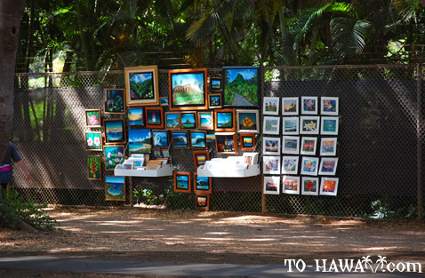 Hawaiian paintings
