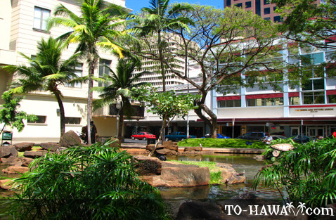 Near the Hawaii Theatre