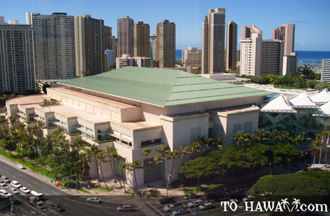 Hawaii Convention Center in Honolulu