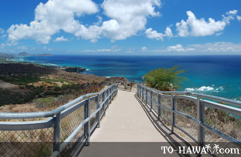 Diamond Head trail views