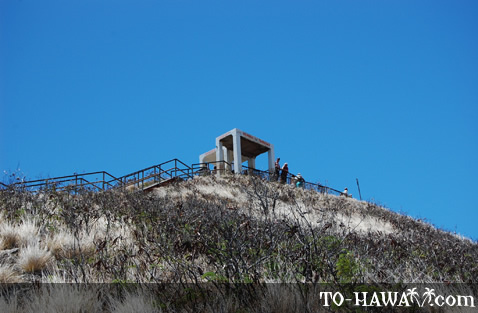Diamond Head Crater summit