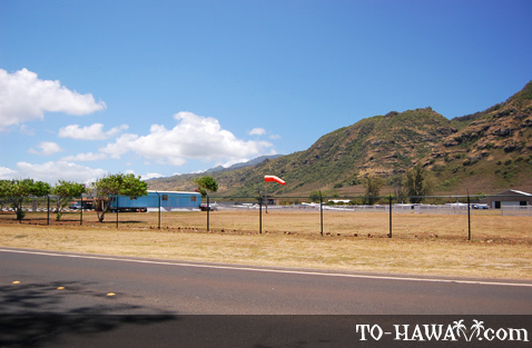 Airfield on Oahu's north shore