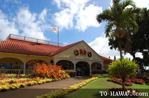 Dole Pineapple Plantation entrance