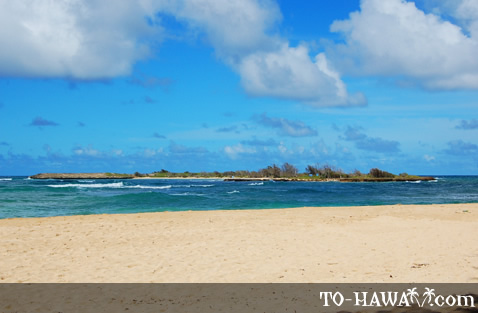 Small Hawaiian island