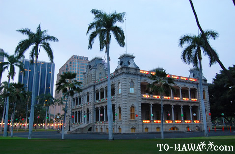 Iolani Christmas decoration