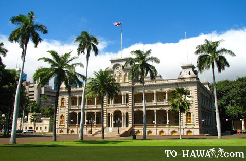 Royal Hawaiian palace