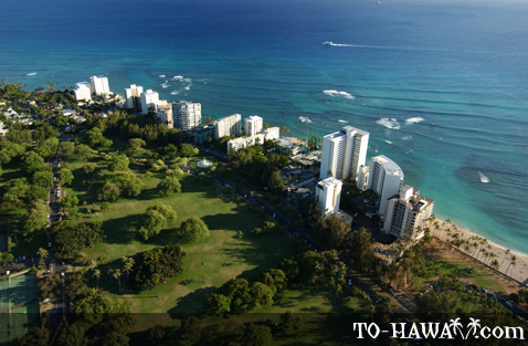 Kapiolani Park and Gold Coast