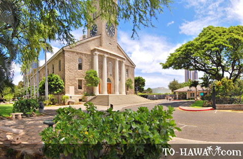 Popular downtown Honolulu church
