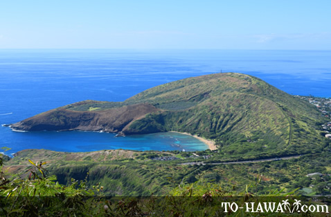 View to Hanauma Bay