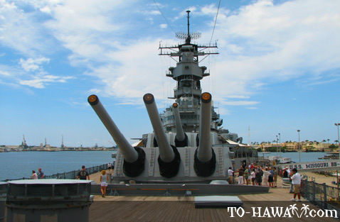 Aboard the USS Missouri