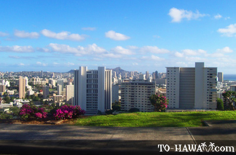 View to Honolulu from Punchbowl
