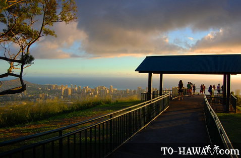 Panoramic view of Honolulu
