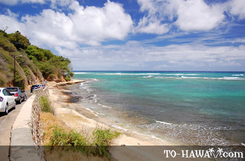 Scenic South Shore Oahu view