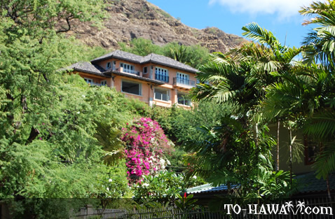 Home on the foothills of Diamond Head