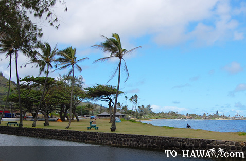 Hau'ula picnic and camping area