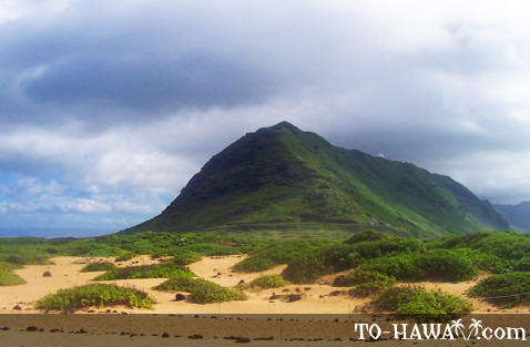 Oahu's northwestern tip
