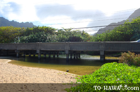 Bridge at Kamehameha Hwy
