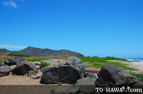 View to Ka Iwi State Scenic Shoreline
