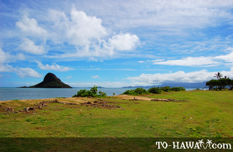 View to Chinaman's Hat island